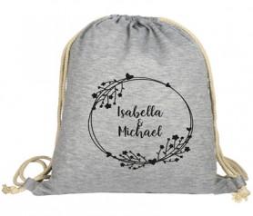 Mochila shirt para personalizar como detalle de boda o producto promocional en campañas de marketing