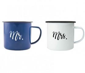 Taza Mr&Mrs. como detalle para los novios o próximos en casarse