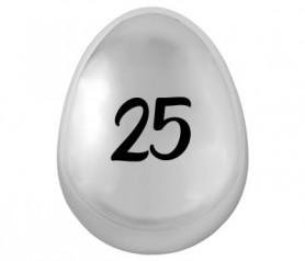 cepillo de pelo 25 aniversario para los invitados a la celebración