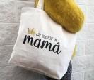 Bolsas de asas orgánica para guardar las cositas de mamá y regalar a cualquier madre