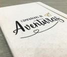Libreta ecológica compañeras de aventuras como regalo para amigas, hermanas, primas, compañeras de trabajo