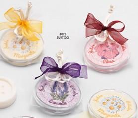 Estuche con 20 hojas de jabón perfumado para regalar como detalle de boda