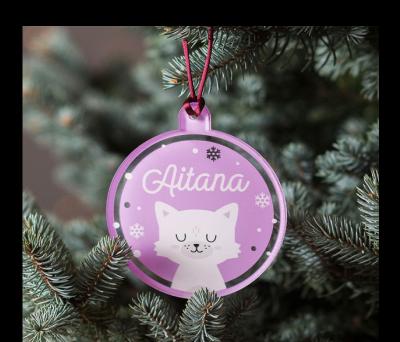 Bola de Navidad de colores - Catnis AWL-7291628