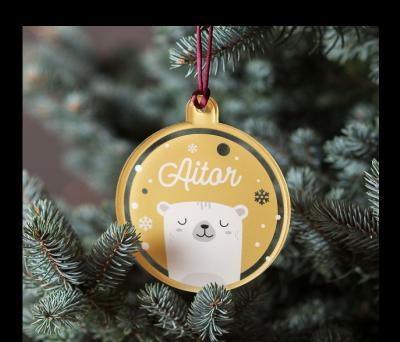 Bola de Navidad de colores - Oslo AWL-9523498