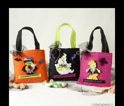 Bolsa Halloween 16 caramelos. stdo.min. 3* AHAD290