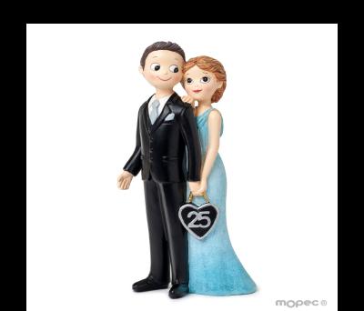Figura boda aniversario 25años Pop&Fun. 21cm. AY925