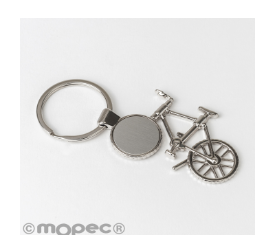 Llavero bicicleta metal 10x4.5cm AM1660