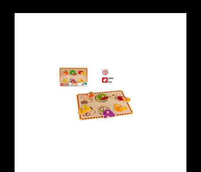 PUZZLE DE MADERA FRUTAS - A9011-FRUTAS