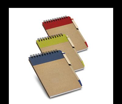 Bloc de notas con bolígrafo - st-93427.22
