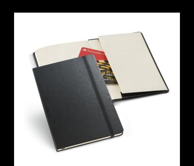 Bloc de notas de tapa rígida con bolsillo interior - st-93470.03