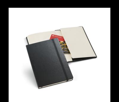 Bloc de notas de tapa rígida con bolsillo interior - st-93471.03
