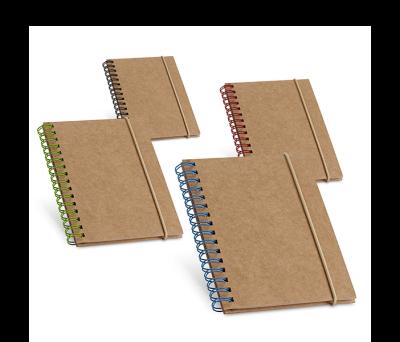 Bloc de notas de tapa rígida de cartón - st-93707.22