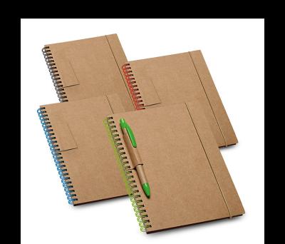 Bloc de notas de tapa rígida de cartón - st-93708.05