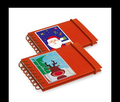 Bloc de notas navideño de cartón - st-93424.01