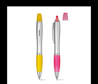 Bolígrafo y rotulador fluorescente Pik - st-91619.08