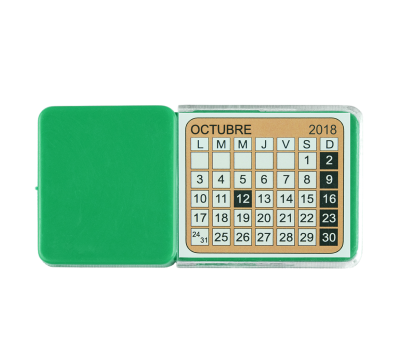 CALENDARIO COCHE VOITURE VERDE - AGY922VE
