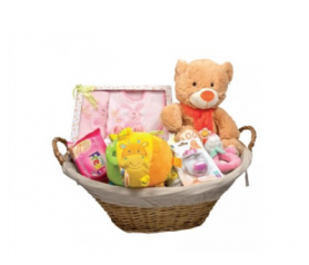 Canasta para recién nacida para detalles de invitadosAP2945P40
