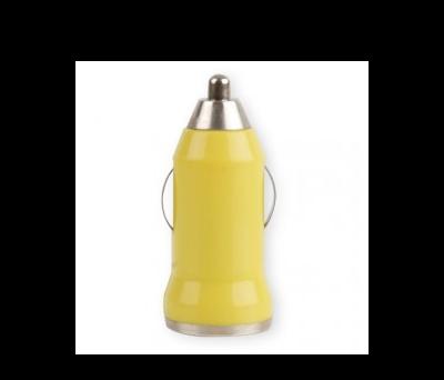 CARGADOR COCHE USB AMARILLO - A4648-AM