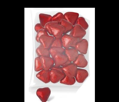 CORAZONES CHOCOLATE (BOLSA 1 40 UNIDS.) para regalar A9373
