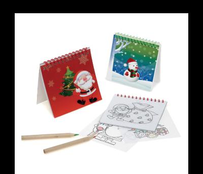 Cuaderno navideño para colorear - st-93443.13