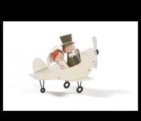Figura de novios en avión - 21ABIS9931