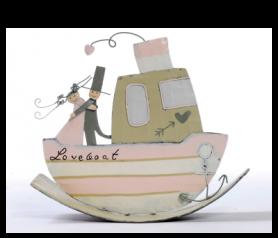 Figura de novios en barco balancín - 21ABIS3103