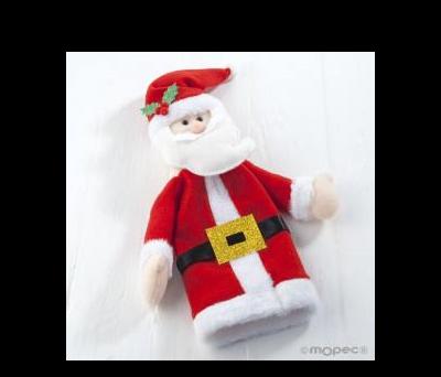 Funda botella 35cm. Santa Claus ANA185