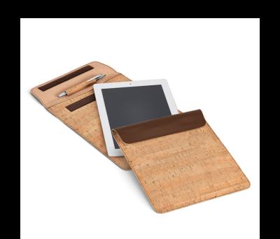 Funda para tablet de corcho y polipiel - st-92278.01