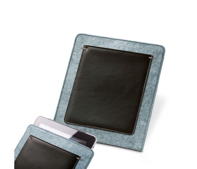 Funda para tablet de fieltro y polipiel - st-92353.72