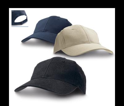Gorra de lona de algodón con 6 paneles - st-99406.13