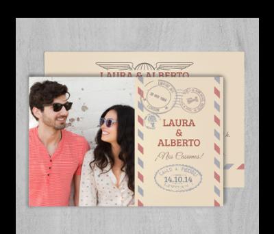 Invitaciones de boda Air mail A-Invitaciones-Air-mail