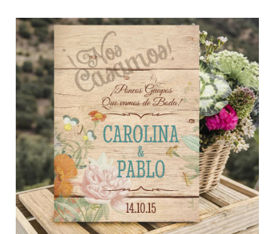 Invitaciones de boda Canna Love Wood A-Invitaciones-Canna-Love-Wood