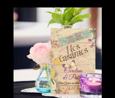 Invitaciones de boda Canna MailWood A-Invitaciones-Canna-MailWood