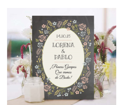 Invitaciones de boda Chalk flowers A-Invitaciones-Chalk-flowers
