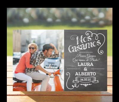 Invitaciones de boda Chalkboard A-Invitaciones-Chalkboard