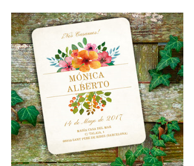 Invitaciones de boda Floweret A-Invitaciones-Floweret