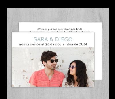 Invitaciones de boda Gafas A-Invitaciones-Gafas