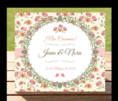 Invitaciones de boda Jardín de rosas A-Invitaciones-Jardín-de-rosas