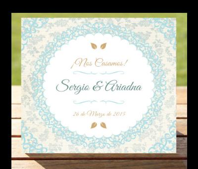 Invitaciones de boda Jazmín A-Invitaciones-Jazmín