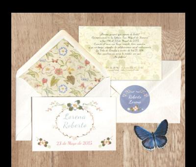 Invitaciones de boda Mariposas A-Invitaciones-Mariposas