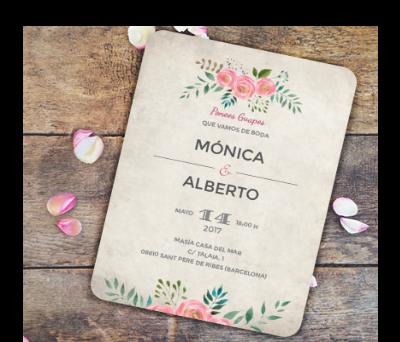 Invitaciones de boda Serena A-Invitaciones-Serena