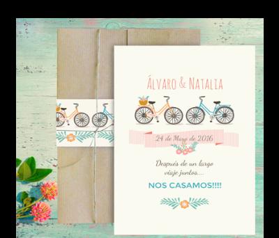 Invitaciones de boda XL Bicis A-Invitaciones-XL-Bicis