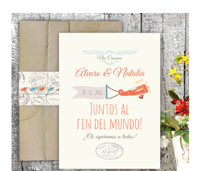 Invitaciones de boda XL Love Air A-Invitaciones-XL-Love-Air