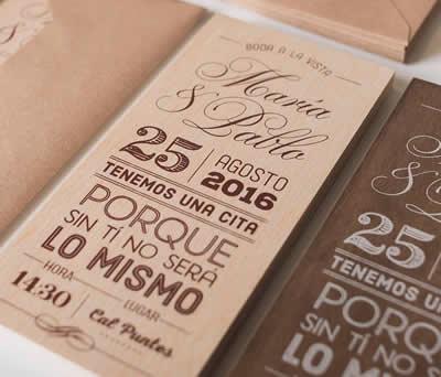 Invitaciones en madera 21AWLM1