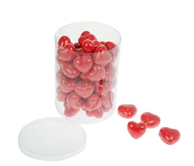 Jabón en forma de corazón rojo 21A010119