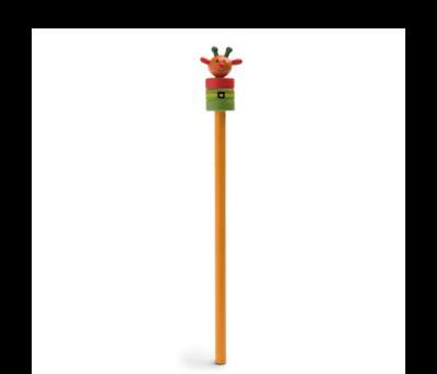 Lápiz navideño con muñeco de madera - st-91906.10