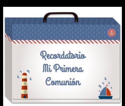 LIBRO ALBUM COMUNI_O_N  EN CAJA DE REGALO para regalar A8576