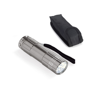 Linterna de aluminio con 9 LEDs - st-94723.42