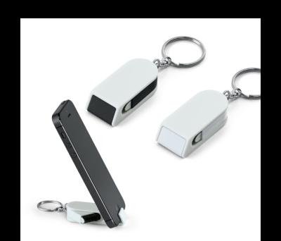 Llavero con soporte para el móvil y limpia pantalla - st-93355.06