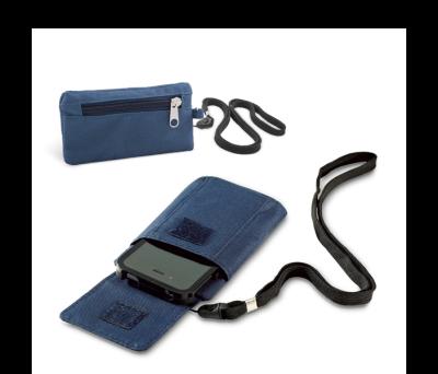 Llavero monedero con porta móvil y lanyard - st-93261.05